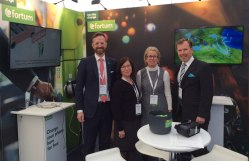 Fortum's team and stand at SIF